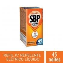 SBP Refil Liquido Inseticida Eletrico 45 Noites Regular 35 ml -