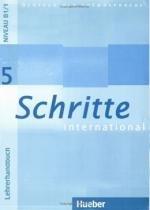 Schritte international 5 lehrerhandbuch (prof.) - Hueber verlag