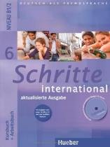 Schritte international 6 kb + ab + audio cd ab - ne - Hueber verlag