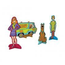 Scooby Doo Decoração de Mesa c/8 - Festcolor -