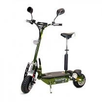 Scooter eletrica two dogs 1000w 48v verde oliva -