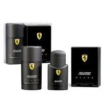 Scuderia Ferrari Black Ferrari - Masculino - Eau de Toilette - Perfume + Desodorante - Ferrari
