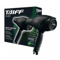 Secador de Cabelos Taiff Black com 1700w, 5 temperaturas e 2 velocidades - 110V - TAIFF