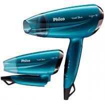 Secador de Cabelos Travel PSC02 Blue Philco - Philco