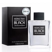 Seduction Black Men Antonio Banderas - Perfume Masculino - Eau de Toilette - 200ml - Antonio Banderas