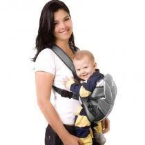 Segura Bebê Canguru Gray/Pink - Classic for Baby - Gray/Pink - Classic for Baby