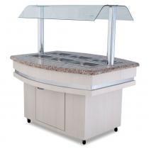 Self Service Buffet Refrigerado 8Gns RF127 Frilux -