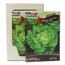 Semente de Alface Aurelia Manteiga caixa com 20 envelopes - Outros