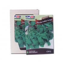 Semente de Rucula Folha Larga caixa com 20 envelopes - Único - Outros