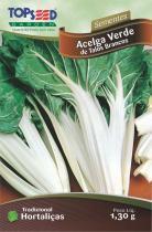 Semente Hortaliças Acelga Verde Talos Brancos com 20 - Comprenet
