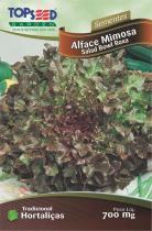 Semente Hortaliças Alface Mimosa Salada Bowl com 20 - Comprenet