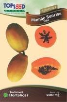 Semente Hortaliças Mamão Havai Papaia com 20 - Comprenet