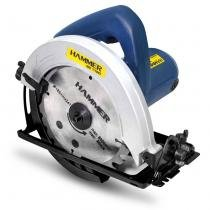 Serra Circular Manual Hammer GYSC1100 para Madeira 7-1/4 Polegadas 1100W 127V Azul e Preto - Goodyear
