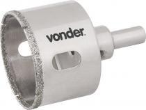 Serra copo diamantada 35mm com haste para alvenaria - Vonder -