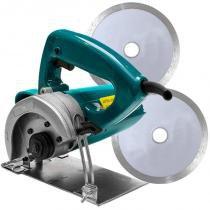 Serra mármore 1200w   2 discos diamantados 220v - songue tools - Songhe tools