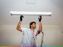 Serviço de instalação de Luminária (Agende sua instalação/números na foto) - Cdf