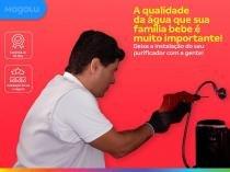 Serviço de instalação de purificador de água de parede - Cdf