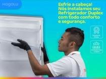 Serviço de instalação de refrigerador duplex - Cdf