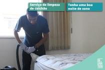 Serviço de Limpeza de Colchão-Solteiro - Dr. lava tudo