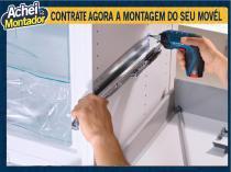 SERVIÇO DE MONTAGEM DE Armário para cozinha - GARANTIA DE 3 MESES - Achei Montador