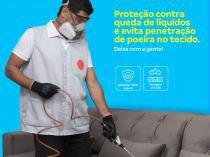 Serviço especializado de impermeabilização de sofá de até 3 assentos - Cdf