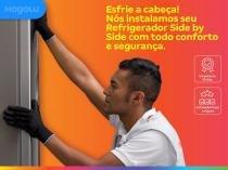Serviço especializado de instalação de refrigerador side by side - Cdf