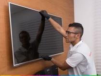Serviço especializado de instalação e configuração de tv de até 42 - Cdf
