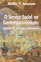 Servico social na contemporaneidade - trabalho... - Cortez editora