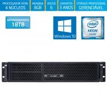 Servidor-Storage Silix X1200R V6 Intel Xeon E3 V6 3.0 Ghz / 8GB / 18TB / RAID / Win 10 Pro OEM -