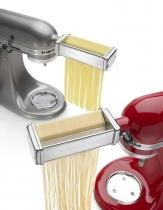Set pasta cutter para batedeira - kitchenaid -