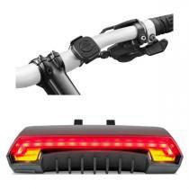 Seta e lanterna Led para bicicleta Bike com controle sem Fio Atrio - Atrio