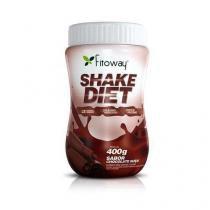 Shake Diet - 400g - Fitoway - Chocolate - Fitoway