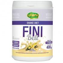 Shake Diet com Colágeno Fini Belt Unilife 400g Baunilha -