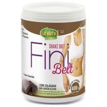 Shake Diet com Colágeno Fini Belt Unilife 400g Chocolate -