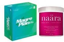 Shake fiber lax morango 400g - Mix nutri
