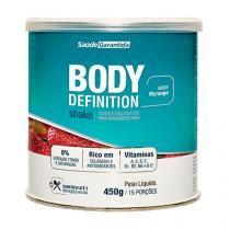 Shake para Emagrecer em Pó Body Definition 450g Sabor Morango - Saúde Garantida