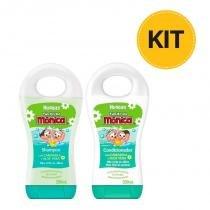 Shampoo + Condicionador Infantil Turma Da Mônica Huggies Camomila 200ml Por R15,99 -