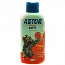 Shampoo Cores Astor para Cães - 500 mL - Mundo animal