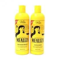 Shampoo Cremoso e Condicionador Hidratante 500ml MEALIZA - Portier
