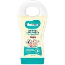 Shampoo e Condicionador 2 em 1 200 ml  - Turma da Mônica Huggies