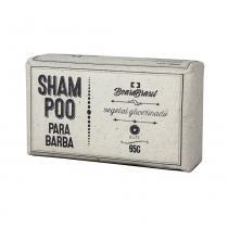 Shampoo em Barra para Barba Vegetal Glicerinado Elite 65g - Beard Brasil - Beard Brasil