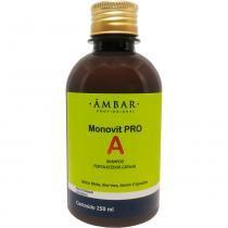 Shampoo Fortalecedor Monovit Âmbar PRO A - 250ml - Âmbar Profissional