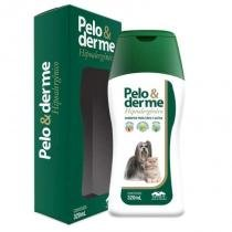 Shampoo hipoalergênico pelo  derme 320ml - vetnil -