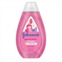 Shampoo Johnsons Baby Gotas de Brilho 400ml - JOHNSONS