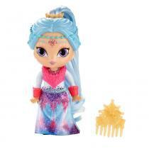 Shimmer e Shine Gênias Mágicas Boneca Fashion Layla Ice - Mattel -
