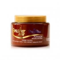 Shine blue finisher hair pomada modeladora shine gloss 180g -