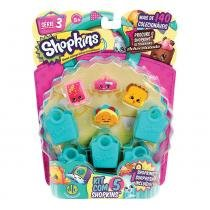 Shopkins Blister Kit com 5 - Série 3 - DTC - DTC