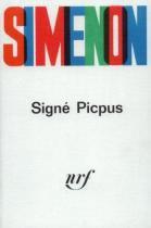 Signe picpus - Gallimard