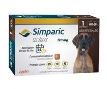 Simparic 120mg Zoetis 1 comp - Antipulgas Cães - Descrição marketplace -