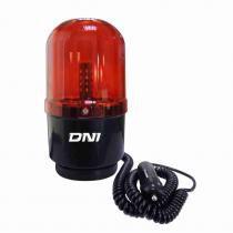 Sinalizador Visual Vermelho com 24 LEDs - DNI 4111 - DNI